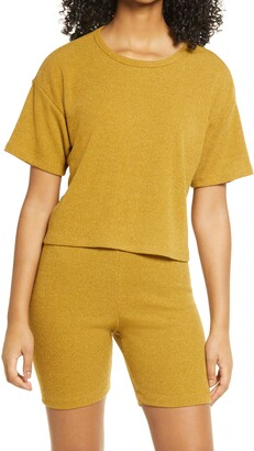 ALL IN FAVOR Boxy Knit Top