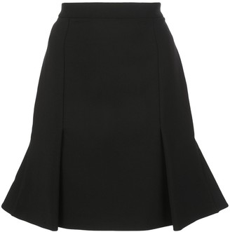 Alexander McQueen Pleated Short Skirt