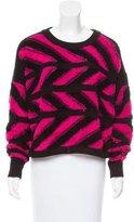Public School Wool-Blend Patterned Sweater