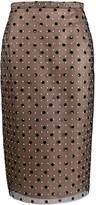 No.21 polka dot pencil skirt