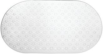 InterDesign Circlz Bath Mat Clear