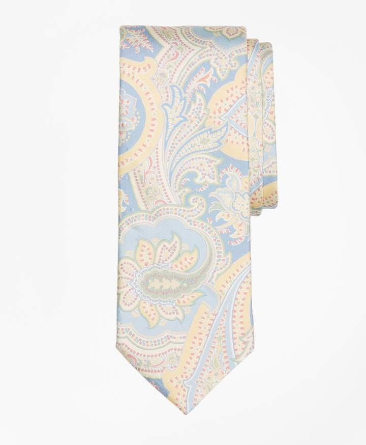 Brooks Brothers Paisley Print Tie