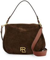 Ralph Lauren RL Suede Messenger Bag, Loden