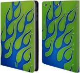 Head Case Designs Flame Decals Leather Book Wallet Case Cover for