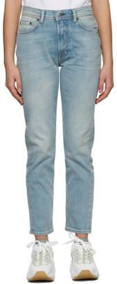 Acne Studios Blue Slim Fit Jeans