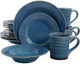 Gibson Mariani Blue 16-Piece Dinnerware Set