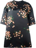 Rochas floral print boxy dress