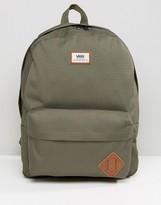 Vans Old Skool Ii Backpack In Green V00onikcz