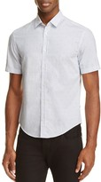 BOSS GREEN C-Boccino Micro Print Slim Fit Button-Down Shirt