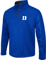 Men's Stadium Duke Blue Devils College Embossed Sleet Quarter-Zip Pullover
