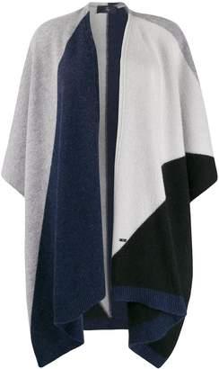 Fay colour block cape
