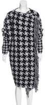 Stella McCartney Wool Houndstooth Coat