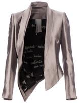 Anne Valérie Hash open front asymmetric blazer