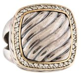 David Yurman Two-Tone Diamond Cable Albion Ring