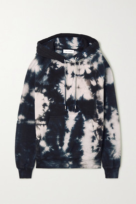 Ninety Percent + Net Sustain Tie-dyed Organic Cotton-terry Hoodie - Gray