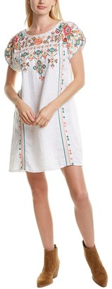 Johnny Was Chandra Linen Shift Dress