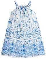 Ermanno Scervino Paisley Print Maxi Dress