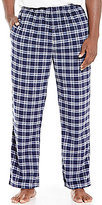 Roundtree & Yorke Plaid Microfleece Lounge Pants