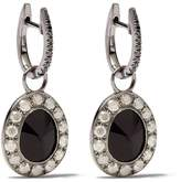 Annoushka 18kt white gold diamond drop earrings