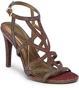 Kenneth Cole Reaction Smash-Ing Shimmer Strappy Dress Sandals