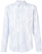 Carven sky camouflage shirt