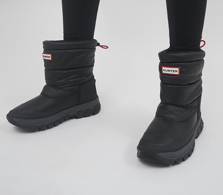 Hunter Insulated Snow Boots Black