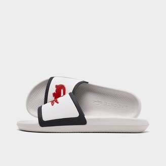 Lacoste Men's Croco Tri3 Slide Sandals