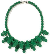 Emerald Green Yawning Apollo Necklace