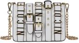 Nicole Lee Women's Hilliard Belt Embellish Mini Chain Cross Body Bag