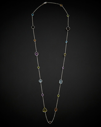 Italian Gold 14K 50.00 Ct. Tw. Gemstone 30In Necklace