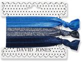 David Jones Beauty Hair Ribbons 3 Pack - Blues
