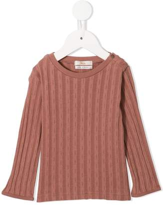 Fith ribbed long-sleeve sweater