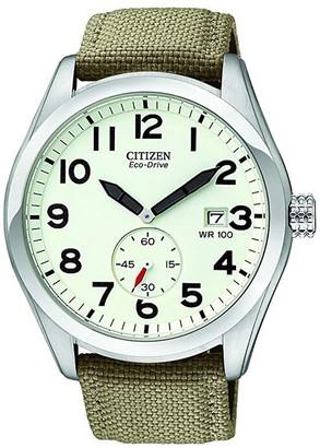 Citizen Men's Eco-Drive Nylon Sport Watch, 43mm