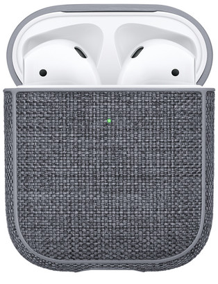 Incase AirPods Case with Woolenex - Asphalt - Gray