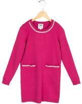 Milly Minis Girls' Jewel-Embellished Sweater Dress w/ Tags