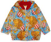 Gucci Baby circus print nylon jacket