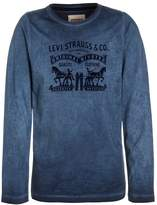 Levi's HORSES Long sleeved top dress blue
