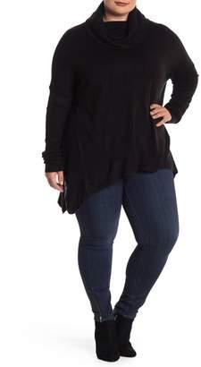 Susina Cowl Neck Tunic (Plus Size)