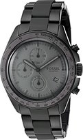 Fossil Men's Quartz Stainless Steel Casual Watch, Color:Black (Model: CH3038)