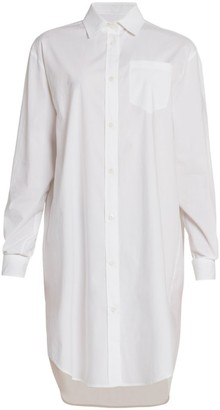 Moschino Oversized Button Down Shirtdress
