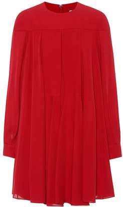 Valentino Silk crepe minidress
