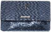 Dorothy Perkins Navy Sequin Foldover Clutch