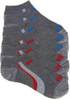 Puma Marled Color Stripe No Show Socks - 6 Pack - Boy's