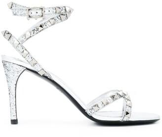Valentino Rockstud Flair buckle-strap sandals