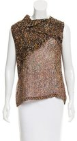 Christian Wijnants Sleeveless Multi-Print Top w/ Tags
