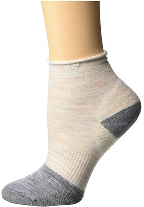Smartwool Luna Mini Boot Sock (Moonbeam) Women's Crew Cut Socks Shoes