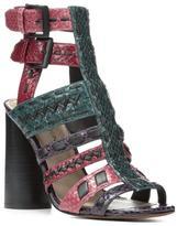 Donald J Pliner Women's BINDY - Watersnake Heeled Sandal