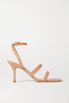 A.W.A.K.E. Mode Rebecca Leather Sandals - Neutral