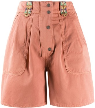 Etro High-Rise Tailored Shorts