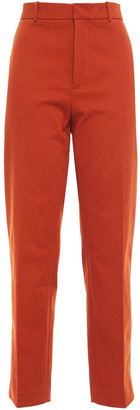 Joseph Coman Stretch-cotton Twill Straight-leg Pants